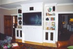 Entertainment Center - Painted Maple