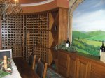Oval Wine Cellar - Stained Cherry